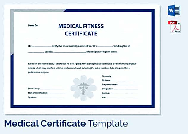 Medical leave application for the further action medical certificate for employee fitness yadclub Choice Image