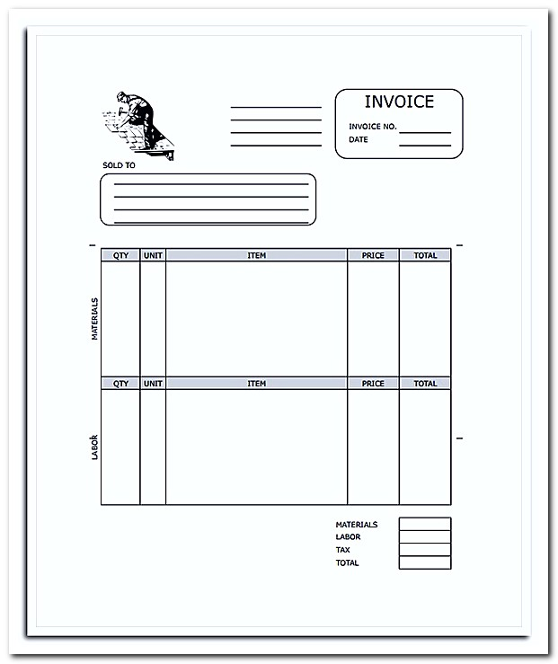 What To Be Included In Roofing Invoice Template With Example - Roofing invoice template