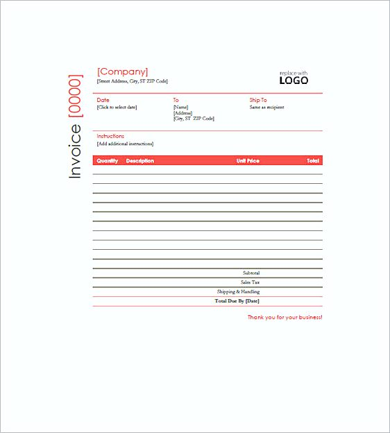 construction invoice templates pdf