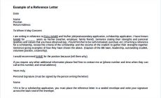 Permalink to Reference Letter Template: Details You Should Include When Writing One