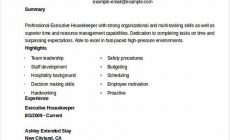 Permalink to What You Have to Know when Writing Your Housekeeper Resume