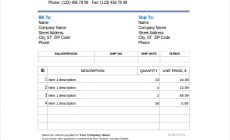 Permalink to 6 Tips in Filling Blank Invoice Template with Ways to Craft It Best