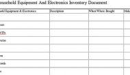 Permalink to Free Download Sample Home Inventory Templates