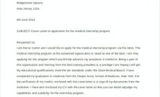Permalink to Examples of Cover Letters for Internships in Tips and Quick Steps