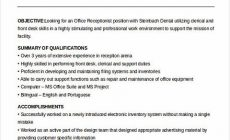 Permalink to Receptionist Resume for Successful Applicants
