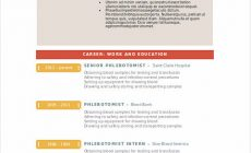 Permalink to Phlebotomy Resume Sample and Tips