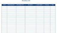 Permalink to Free Download Business Inventory List Templates