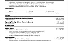 Permalink to 9+ Chemical Engineering Resume