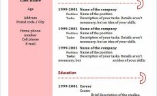 Permalink to Everything You Have to Know about Chronological Resume