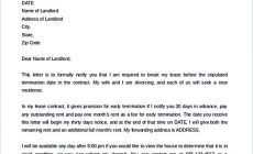 Permalink to 12+ Termination Letter Template