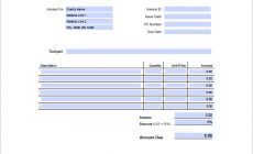 Permalink to Create the Graphic Design Invoice Template well