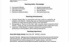 Permalink to Excellent Academic Resume Template to Get Job