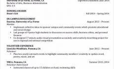 Permalink to Be Skillful in Writing College Student Resume
