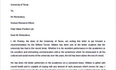Permalink to Best Recommendation Letter Template to Use