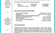 Permalink to Creative and Extraordinary Art Teacher Resume for Any Level Education