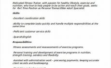 Permalink to Personal Trainer Resume Sample and Tips