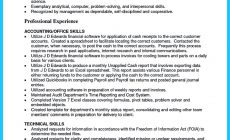 Permalink to Awesome Account Receivable Resume to Get Employer Impressed