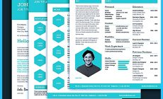 Permalink to Custom and Unique Artistic Resume Templates for Creative Work