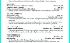 Permalink to Impress the Employer with Great Certified Nursing Assistant Resume