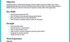 Permalink to One of Recommended Banking Resume Examples to Learn