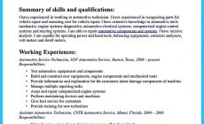 Permalink to Writing Your Great Automotive Technician Resume