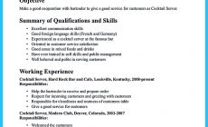 Permalink to Everything You Must Put Onto Your Impressive Bartenders Resume