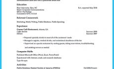 Permalink to 30 Sophisticated Barista Resume Sample That Leads to Barista Jobs