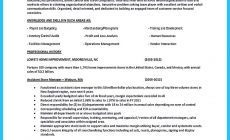 Permalink to Crafting a Great Assistant Store Manager Resume
