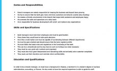 Permalink to Starting Successful Career from a Great Bank Manager Resume